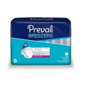 Prevail Breezers Briefs Moderate to Heavy Absorbency | First Quality