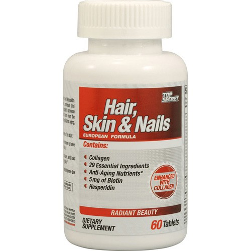 Top Secret Nutrition Hair, Skin and Nails