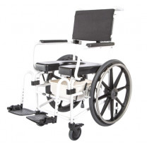 ActiveAid Evolution 1024 Seat Slope Adjustable Shower Commode Chair
