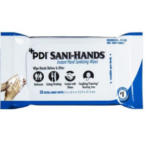 PDI Sani-Hands Bedside Pack Cleansing Wipes