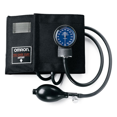 OMRON Sphygmomanometer with Nylon or Cotton Cuff
