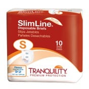 Tranquility SlimLine Original Disposable Briefs Heavy Absorbency