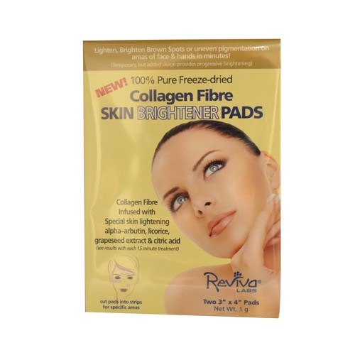 Reviva Labs Collagen Fiber Skin Brightener Pads
