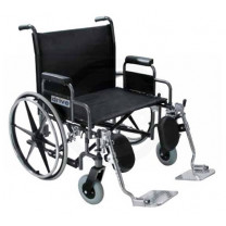 Drive 26 Inch Sentra Bariatric Extra Wide Dual Axle Wheelchair