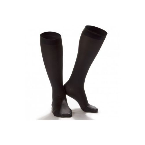 Shape To Fit Unisex Microfiber Medical Knee High Stockings 20-30 mmHg