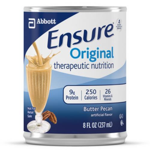Ensure Original Nutrition Shakes - 8 oz Can Butter Pecan