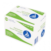 Dynarex 3264 Advantage 4 x 4 Inch Surgical Gauze Sponges 8 Ply