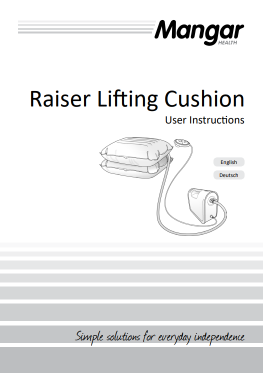mangar raiser lifting cushion b03