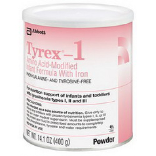 Tyrex 1 Amino Acid-Modified Infant Formula With Iron