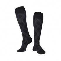 Modern Argyle Compression Socks 20-30 mmHg