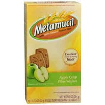 Metamucil Wafer Fiber Supplement
