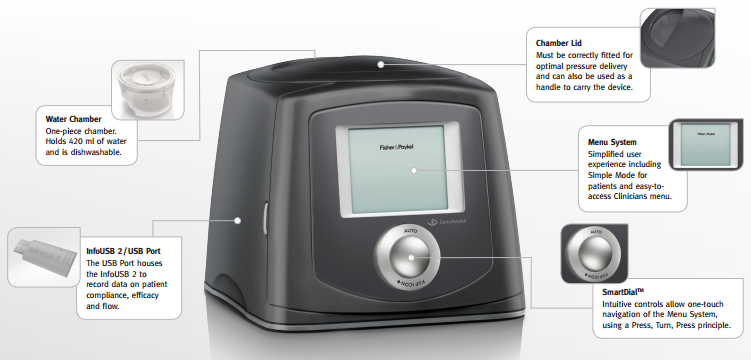 fisher & paykel icon cpap clinician manual