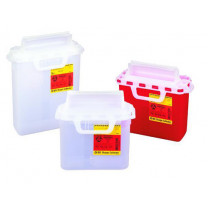 5.4 Quart Pearl BD Sharps Container with Counterbalanced Door 305428