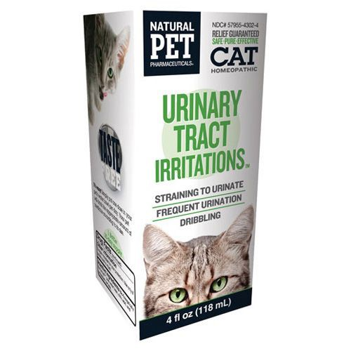 Homeopathic Natural Pet Cat Supplement - Urinary Tract Infections