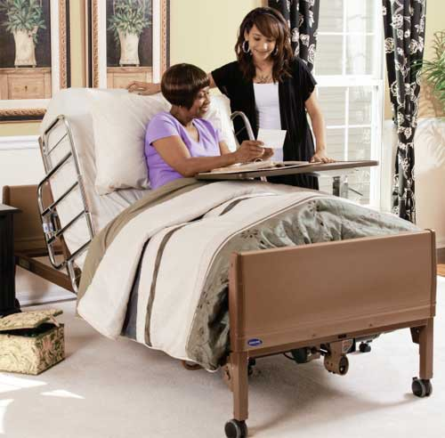 invacare full electric hospital bed | 5410ivc