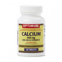 Optimum Calcium with Vitamin D Tablets