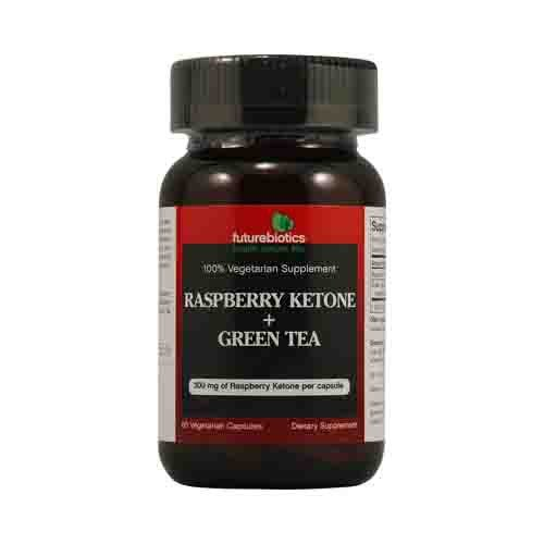 Raspberry Ketone plus Green Tea Dietary Supplement
