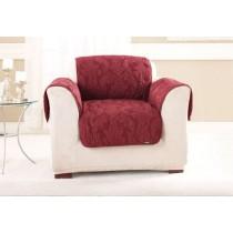 Matelasse Damask Chair Furniture Cover