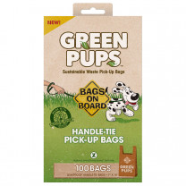 Green-Ups Waste Pick-Up Hand Tie Bags