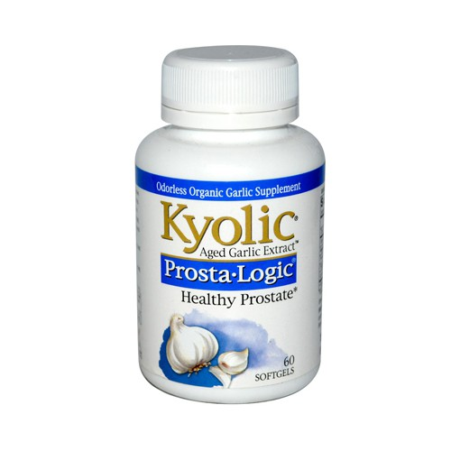 Kyolic Aged Garlic Extract Prosta Logic Healthy Prostate Herbal Supplement