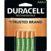 AAA Duracell Rechargeable Batteries