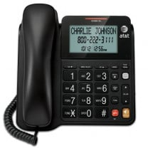 Corded Speakerphone with Large Tilt Display