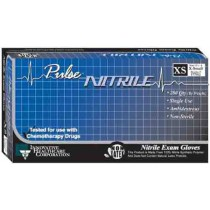 Pulse Nitrile Exam Gloves Powder Free - NonSterile