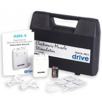 Electronic Muscle Stimulator EMS with Timer and Carrying Case