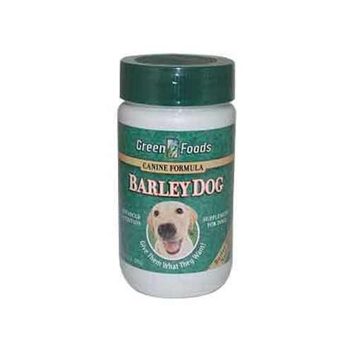 Green Foods Barley Grass Juice All Breed Dog Formula