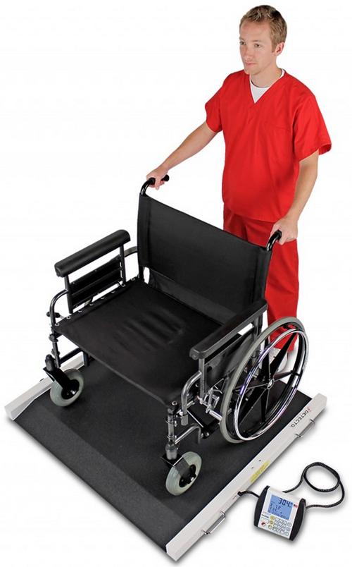 Portable Bariatric Wheelchair Scale Detecto Brw Vitality Medical