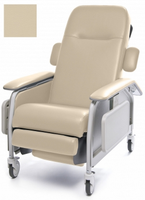 lumex clinical care geri chair recliner 755