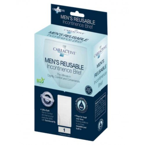 CareActive Mens Reusable Incontinence Briefs