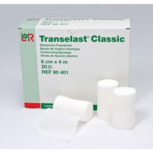 Transelast Classic 55977902 Gauze 6 cm x 4 m Bandage Roll