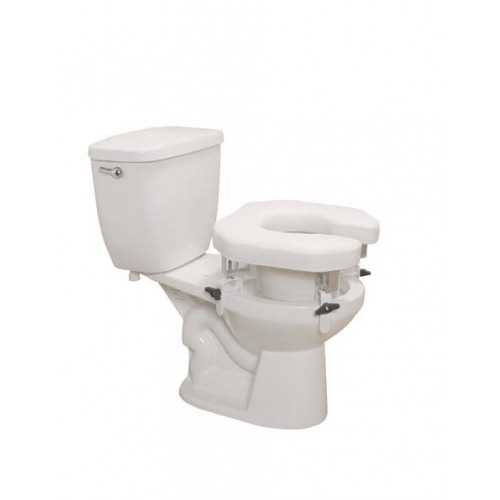 Raised Elevated Padded Toilet Seat by Drive