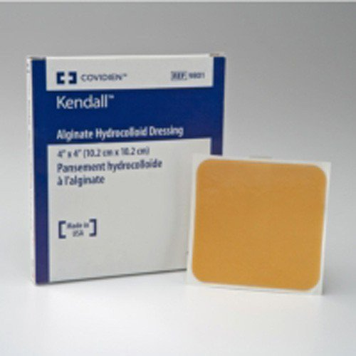 Alginate Hydrocolloid Wound Dressing 2.5 x 2.5 Inch