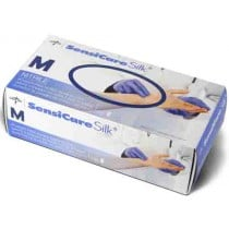 MedLine SensiCare Silk Nitrile Exam Gloves Latex Free