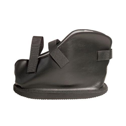 vinyl closed toe cast boot e9a