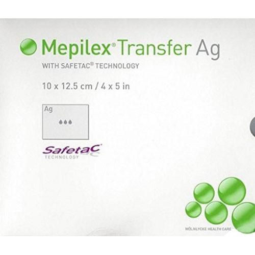 Molnlycke 394190 Mepilex Transfer Ag Soft Silicone
