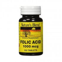 Natures Blend Folic Acid