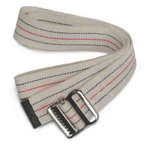 Medline Cotton Gait Belt MDT828203 Red, White & Blue Stripes