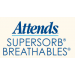 Attends Supersorb Breathable Logotype