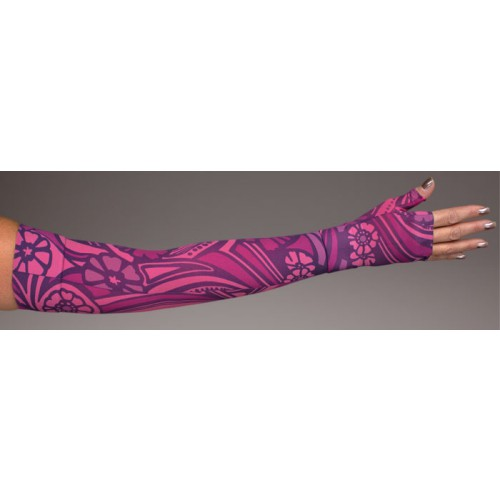 LympheDivas Nouveau Compression Arm Sleeve 20-30 mmHg w/ Diva Diamond Band