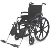 Medline Premium Ultra-lightweight Wheelchair with Swing-Back Desk-Length Arms