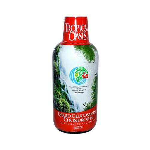 Tropical Oasis Liquid Glucosamine Chondroitin