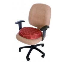 Essential Medical Supply Molded Donut Cushion, Plaid - N8008P
