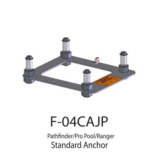pool lift anchors and spa lift anchors for aqua creek products 2fc