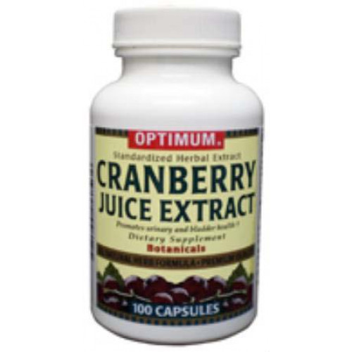 Optimum Cranberry Juice Extract Supplement