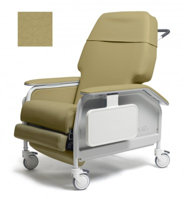 lumex extra wide clinical care geri chair recliner 342