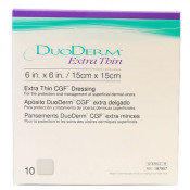 DuoDERM Extra Thin 187957 | Square: 6 x 6 Inch by ConvaTec