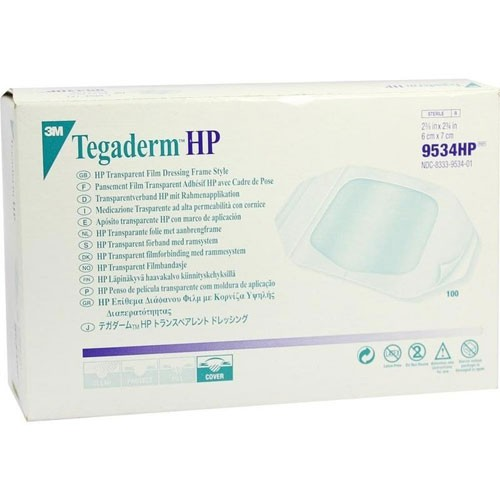 3M Tegaderm HP 9534HP Film Dressing